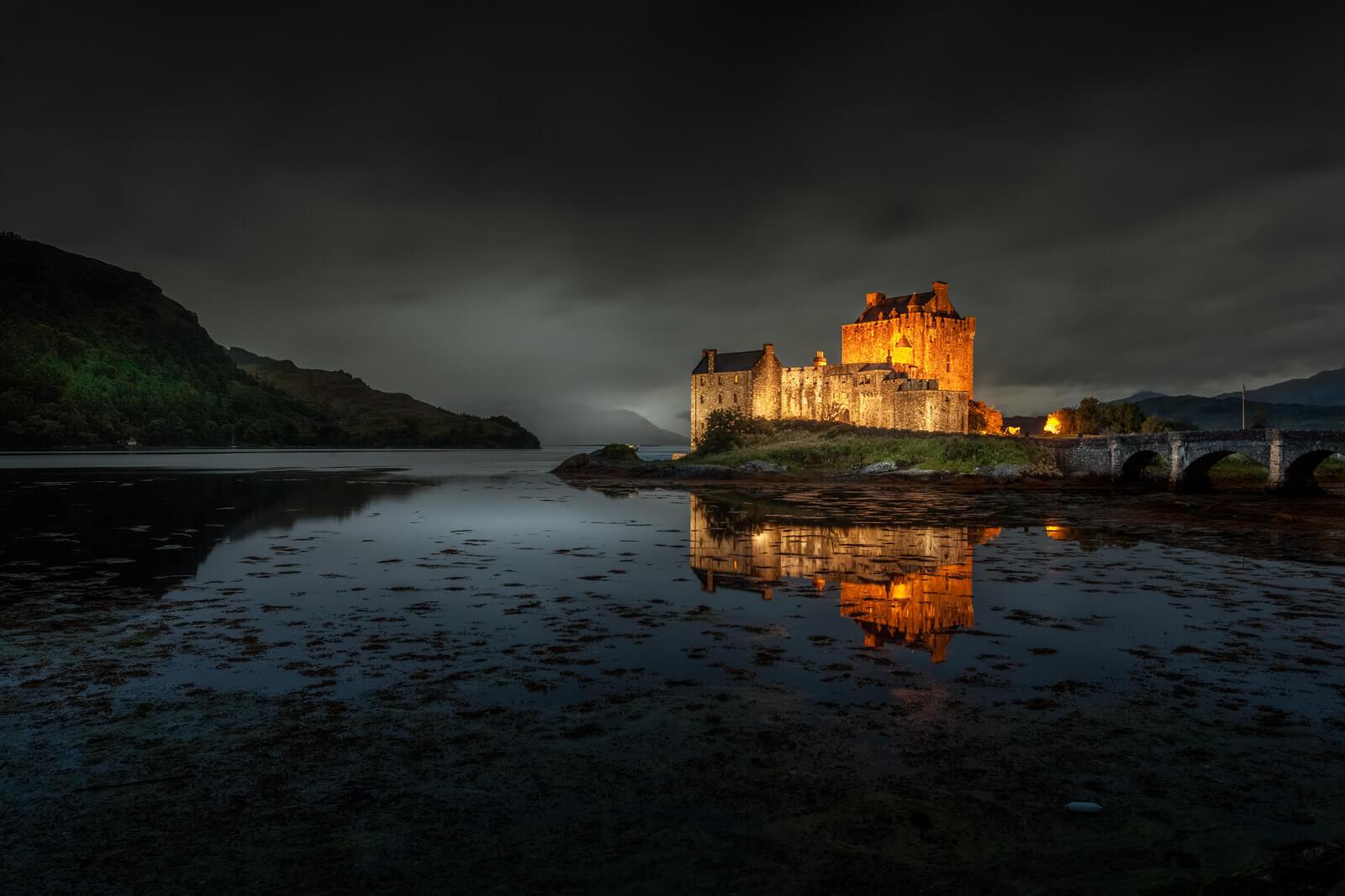 Eilean Donan Castle by Night